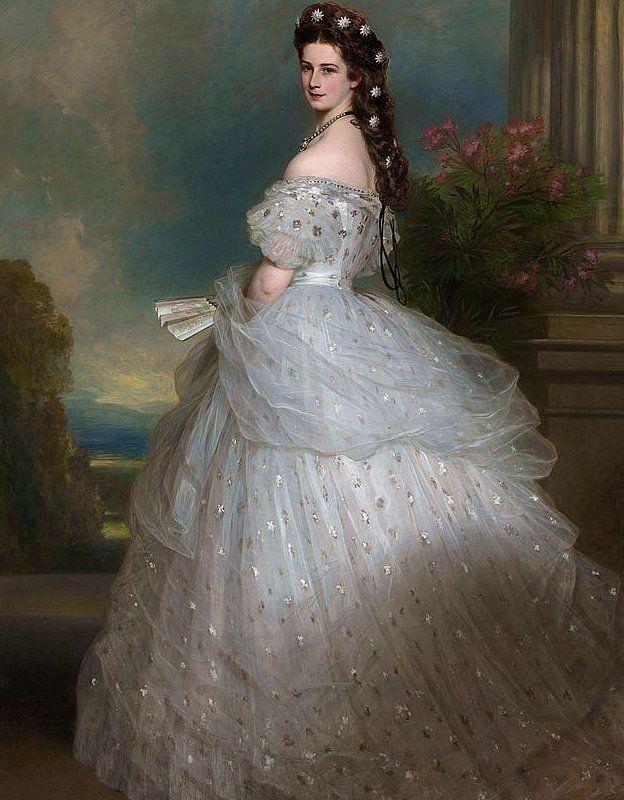 La emperatriz Isabel por Franz Xaver Winterhalter, (1865)