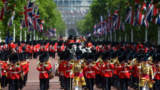 United kingdom country profile bbc news trooping the colour parade platinumwayz