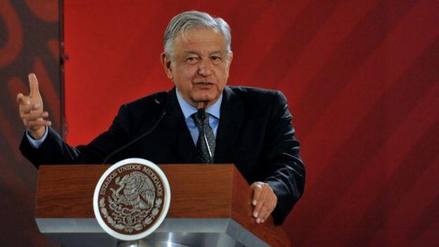 Президент Мексики Обрадор