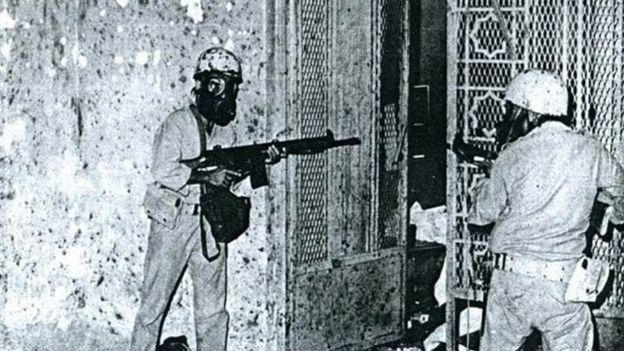 மெக்கா 1979: சௌதி வரலாற்றை மாற்றிய மசூதி முற்றுகை