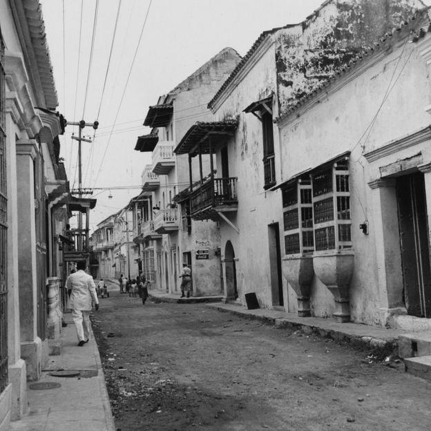 Calles de Cartagena, Colombia.