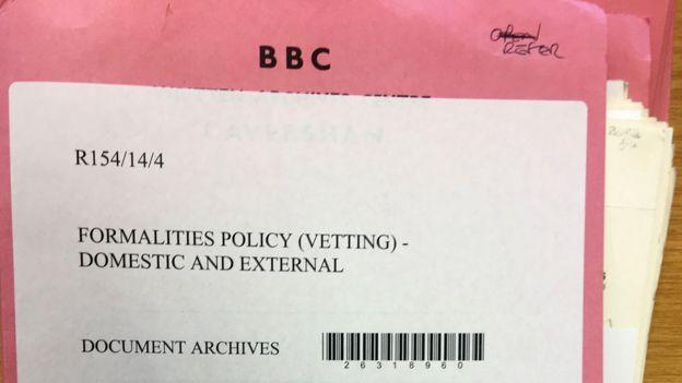 Vetting file