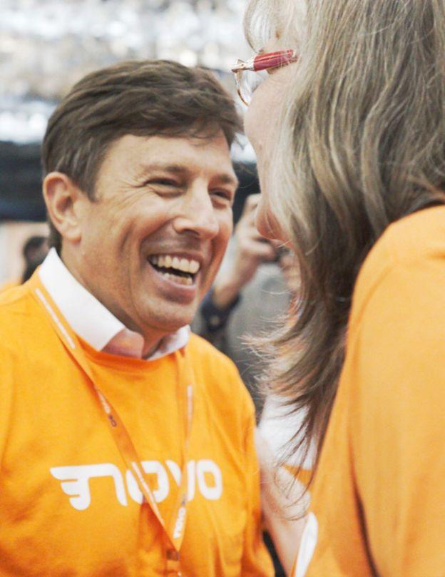 João Amoêdo em pré-campanha à Presidência da República