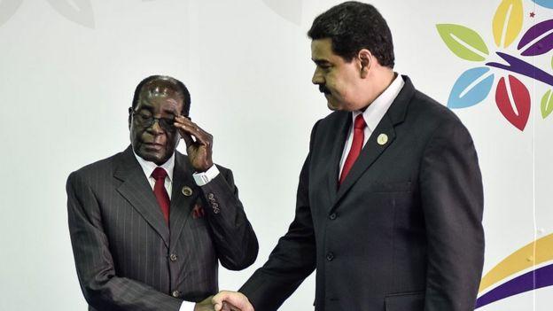 Mugabe e Maduro