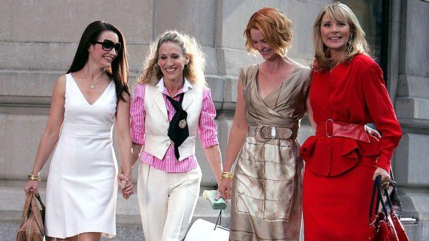 Sarah Jessica Parker, Kim Cattrall, Kristin Davis y Cynthia Nixon