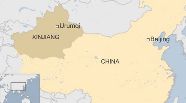 Chinese police to track cars in Xinjiang in terror crackdown - BBC News