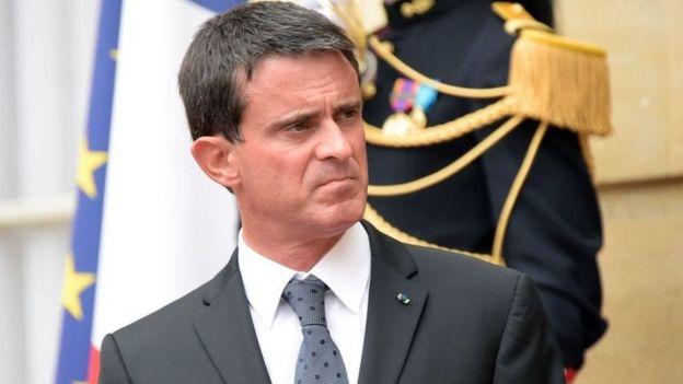 Waziri mkuu wa Ufaransa Manual Valls