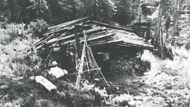 Cabana onde os Lykov viviam quando foram encontrados em 1978