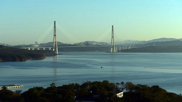 Puente en Vladisvostok