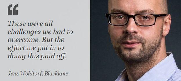 Jens Wohltorf, CEO Blacklane