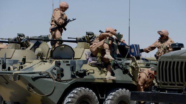 قوات في سوريا