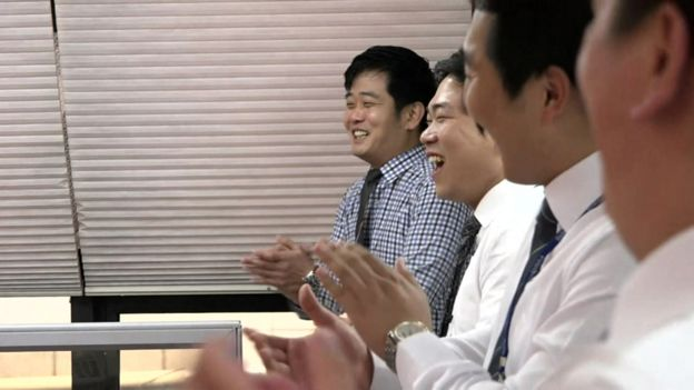 Image result for chinese office laughing
