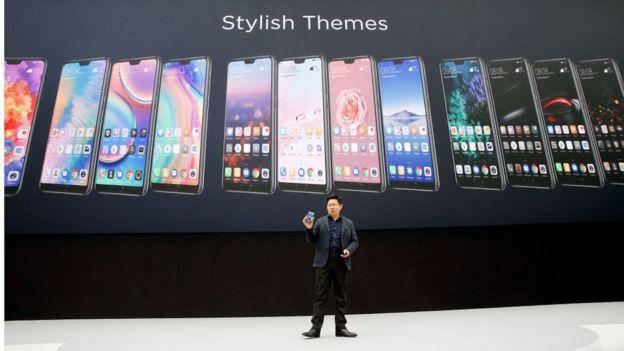 Presentación de nuevos modelos de Huawei en París