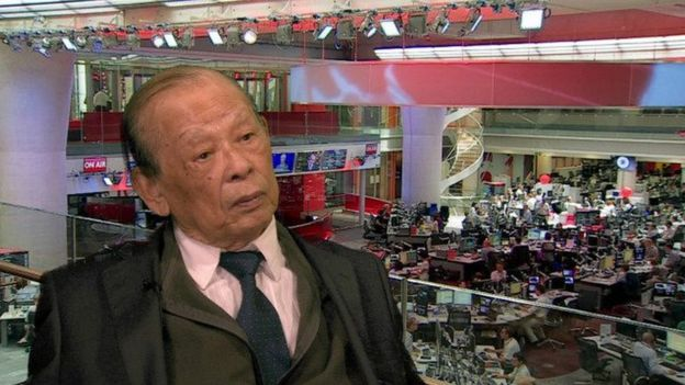 現在年過八旬的越南老戰士裴信上校