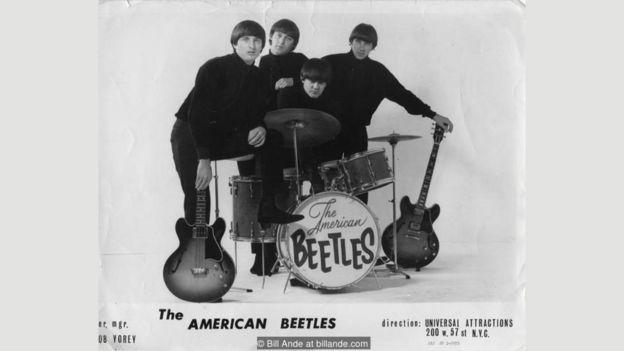 Изначально группа называлась The Ardells, но потом была переименована в The American Beetles