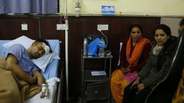 Basanta Bohora no hospital