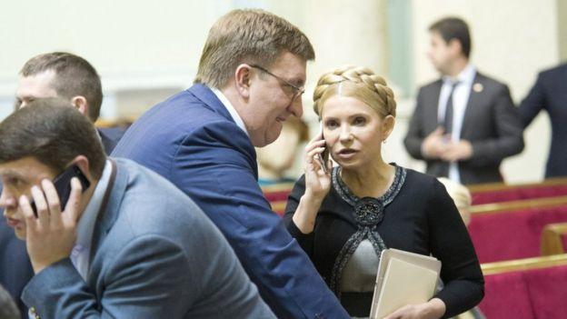 Владислав Бухарєв і Юлія Тимошенко