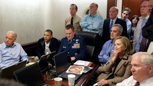 President Obama and his team followed the mission against Bin Laden from the White House Situation Room