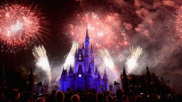 Parque da Disney, na Flórida
