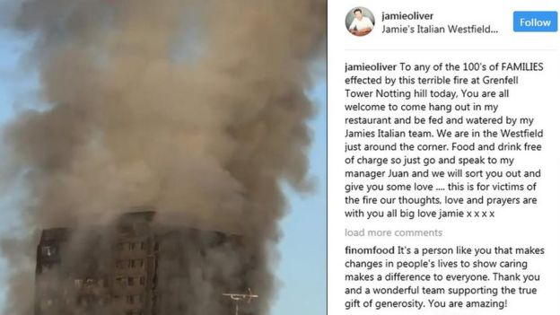 Adele Lends Support To Grenfell Tower Residents, After Devastating Fire