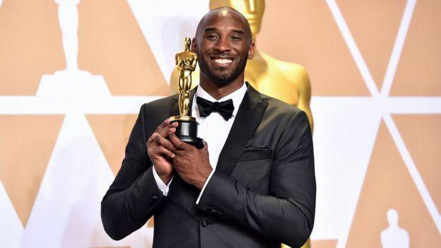 Kobe Bryant at the 2018 Oscars