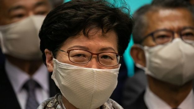 Hong Kong CEO Carrie Lam