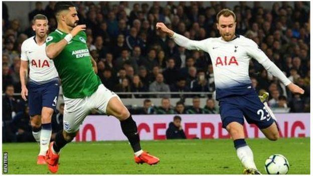 Kiungo wa kati wa Tottenham na timu ya taifa ya Denmark Christian Eriksen
