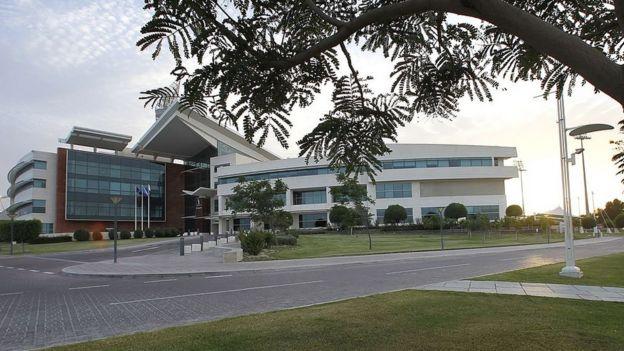 Hospital Aspetar en Doha, Qatar.