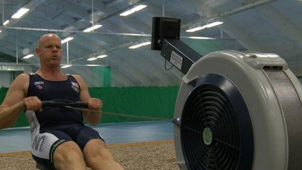 Goosebumps' for Invictus Games captain Mark 'Dot' Perkins - BBC News