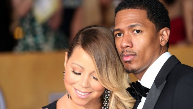 Maria Carey and Nick Cannon