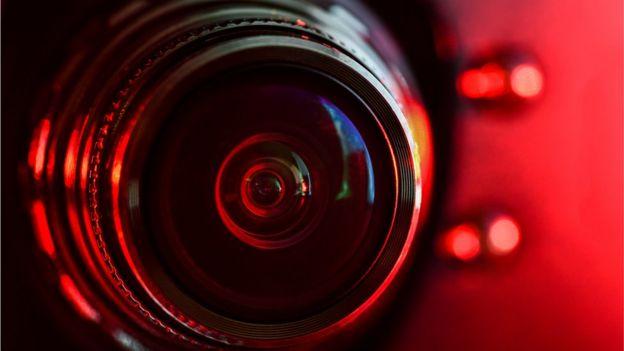 Detalhe de uma webcam