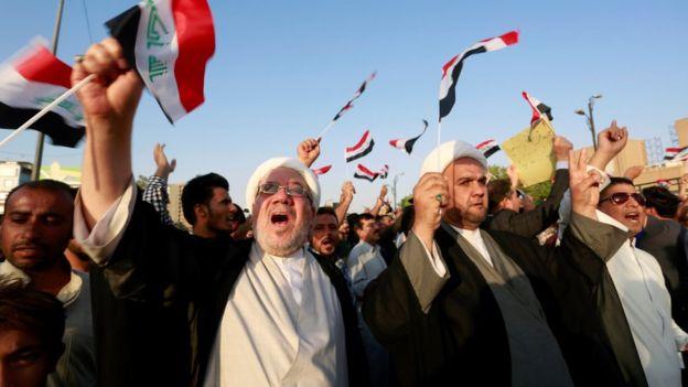 السيستاني يدعو إلى تشكيل حكومة عراقية جديدة