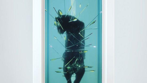 Saint Sebastian, Exquisite Pain by Damien Hirst