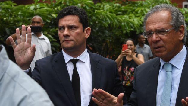 Sérgio Moro e Paulo Guedes