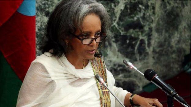 رئيسة إثيوبيا
