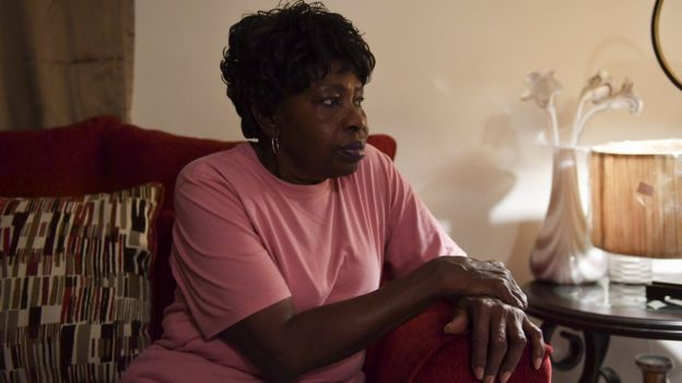 Lila Johnson, 71, is photographed at her home on December 21, 2018 in Hagerstown, Md.
