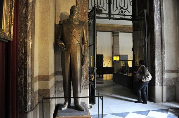 "Before a renovation in 2018, Belgium's Africa Museum was known as the world's ""last colonial museum"""