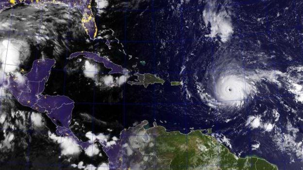 Furacao Irma em 5 de setembro