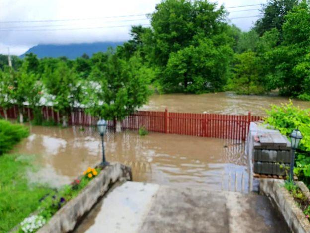Паводок на Закарпатті