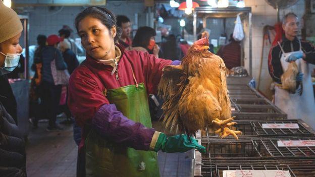 Mercado en Hong Kong
