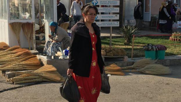 Узбекская жительница
