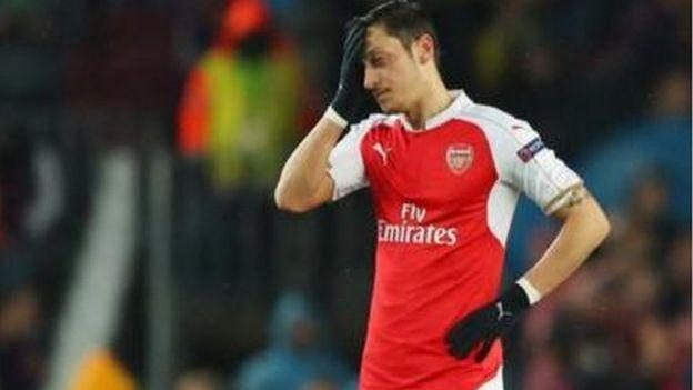 Mesut Ozil wa Arsenal