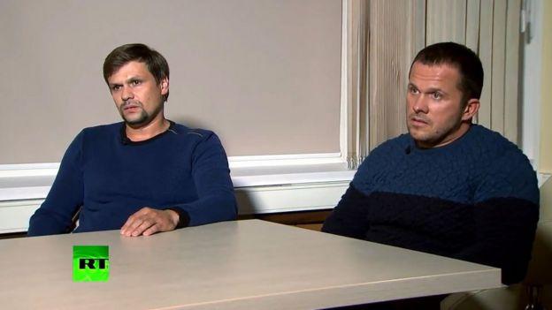 Entrevista con Alexander Petrov y Ruslan Boshirov.
