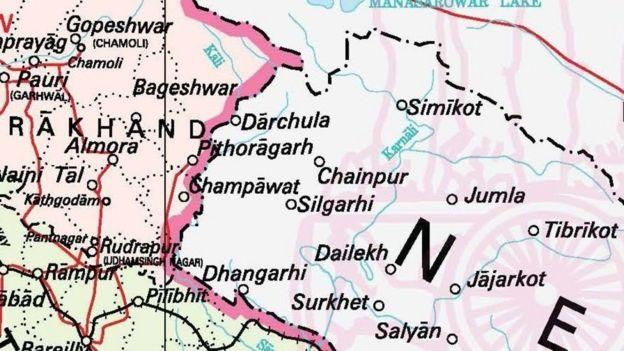 भारतले आफ्नो नक्सामा कालापानी क्षेत्र देखाएपछि नेपालमा त्यसको यसअघि पनि विरोध भएको थियो