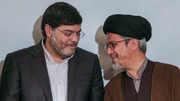 سعید رضا عاملی و محمد مرندی، دو رئیس سابق دانشکده مطالعات جهان دانشگاه تهران
