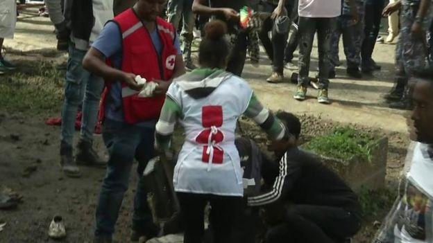 Qaraxii ka dhacay Addis Ababa todobaadyo ka dib markii uu xukunka qabtay Abiy.