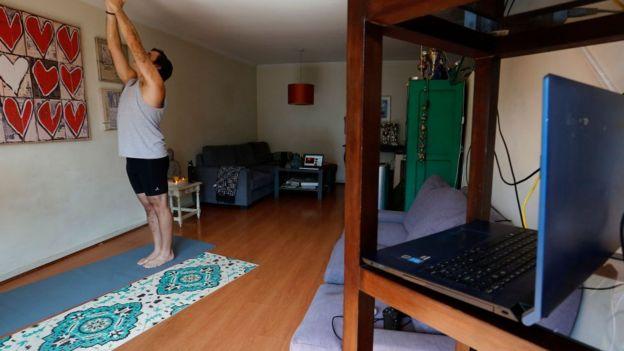 онлайн-урок йоги