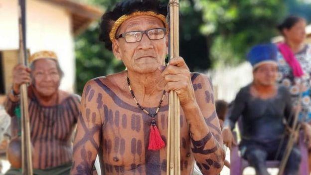 Api Suruí, índio já falecido