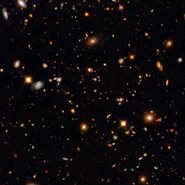 Imagne del Campo Ulraprofundo del Hubble