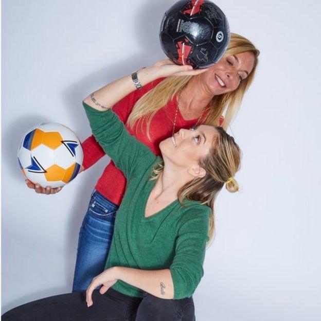 Shalimar Reynal y Victoire Cogevina (Crédito: Lynn Parks/SR All Stars)